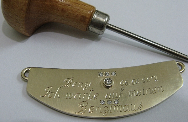 Deutsch hand engraving