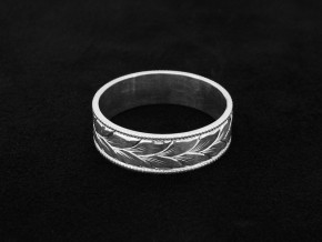 Winding-Leaves-Engraved-Wedding-Ring-3