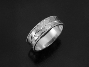 Winding-Leaves-Engraved-Wedding-Ring-5