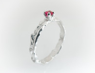 Ruby engagement ring 1